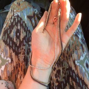 Trifari Jewelry - TRIFARI Triple Knotted Chain Necklace